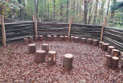 Un canapé forestier
